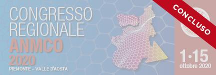 CONGRESSO REGIONALE ANMCO PIEMONTE VALLE D'AOSTA 2020 - PROIETTATI NEL FUTURO CON LA CONSAPEVOLEZZA DEL PRESENTE  E L'ESPERIENZA DEL PASSATO